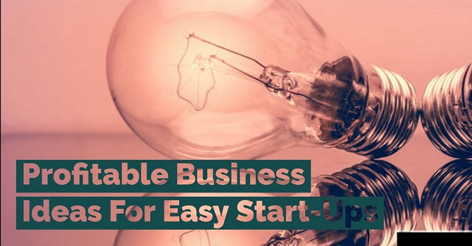 Profitable Business Ideas For Easy Start Ups