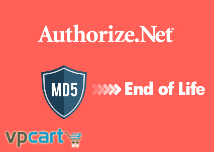 vpcart vpasp authorize net md5 end of life
