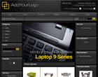 157 - VP-ASP Sleek Black Ecommerce Template