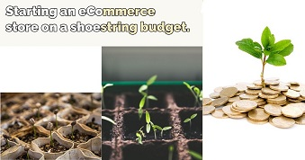 Starting an eCommerce store on a shoestring budget.