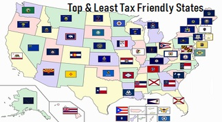 The 10 Top and Least Tax Friendly States in US For Small Businesses